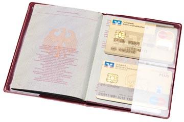 Hidentity paspoorthouder, rood