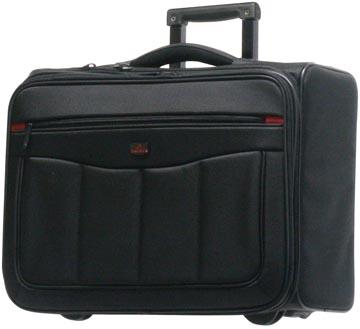 Davidts MT Carlo business laptop trolley, ft 46 x 35 x 23 cm