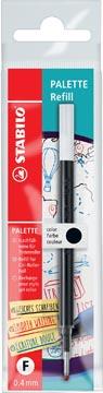 STABILO PALETTE roller à encre gel, recharge, 0,4 mm, noir