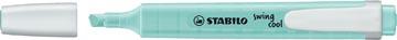 STABILO swing cool pastel markeerstift, turkoois