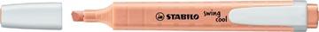 STABILO swing cool pastel markeerstift, creamy peach