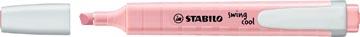 STABILO swing cool pastel markeerstift, pink blush