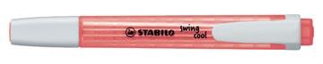 STABILO swing cool markeerstift, rood
