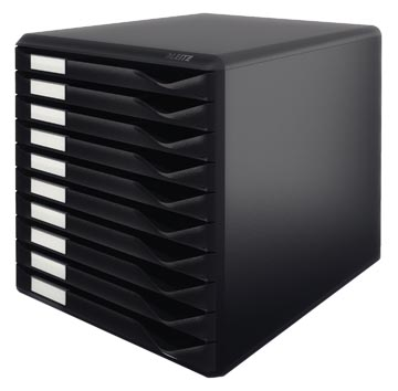 Leitz ladenblok zwart/zwart