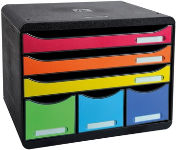 Exacompta ladenblok Storebox Maxi, harlekijn