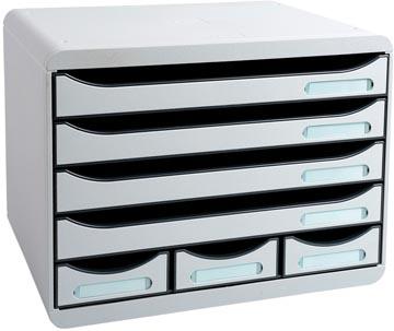 Exacompta ladenblok Storebox Mini, lichtgrijs