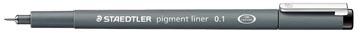 Staedtler fineliner Pigment Liner, 0,1 mm