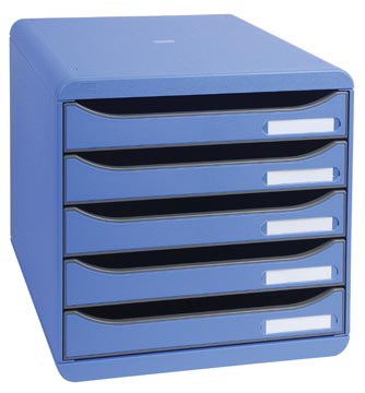 Exacompta ladenblok Big-Box Plus Classic, ijsblauw