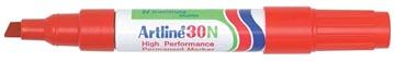 Marqueur permanent Artline 30 rouge