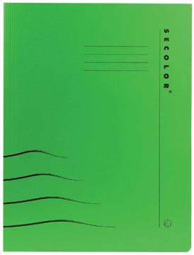 Jalema Chemise avec clip Secolor pour ft A4 (31 x 25/23 cm), vert