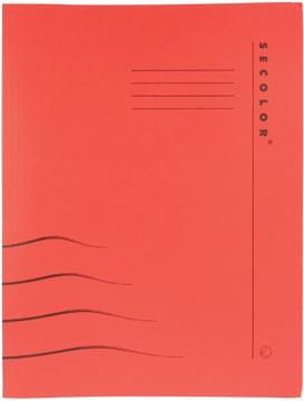 Jalema Chemise avec clip Secolor pour ft A4 (31 x 25/23 cm), rouge
