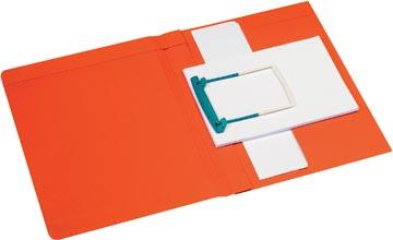 Jalema Chemise avec clip Secolor Clipex Plus rouge