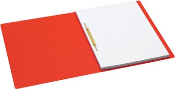 Jalema Secolor chemise à glissière, ft A4 avec fixe-dossiers, paquet de 10 pièces, rouge