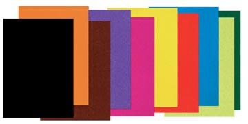 Papier à dessin coloré ft 17 x 21 cm