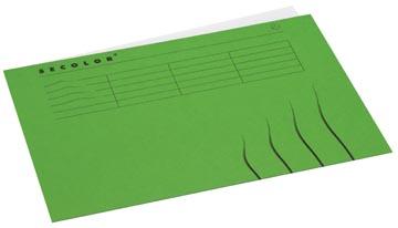 Jalema Secolor dossieromslag voor ft A4 (22,5 x 31 cm), groen