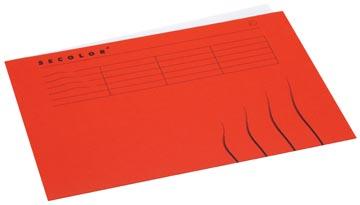 Jalema Secolor dossieromslag voor ft A4 (22,5 x 31 cm), rood