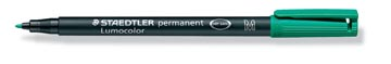 Staedtler OHP-marker Lumocolor Permanent groen, medium 1 mm