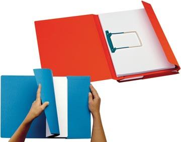 Jalema dossier Secolor Combi, paquet de 10 pièces, rouge