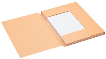 Jalema Secolor dossiermap voor ft A4 uit karton, gems, pak van 25 stuks