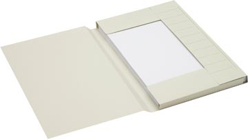 Jalema Secolor chemise de classement pour ft folio en carton, gris, paquet de 25 pièces