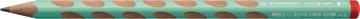 STABILO EASYgraph S Pastel potlood, HB, 3,15 mm, voor rechtshandigen, groen