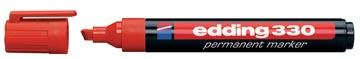 Edding marqueur permanent e-330 rouge