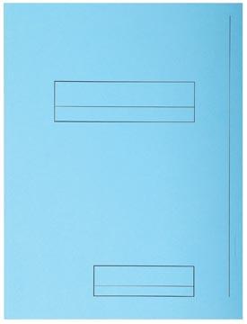 Exacompta dossiermap Super 210, pak van 50 stuks, blauw