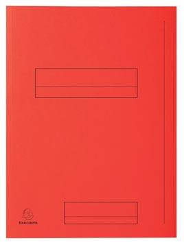 Exacompta dossiermap Super 210, pak van 50 stuks, rood
