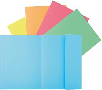 Exacompta dossiermap Super 210, pak van 50 stuks, geassorteerde kleuren