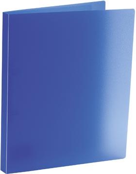 Bronyl classeur à anneaux, pour ft A4, en PP, 2 anneaux en D de 15 mm, bleu transparent