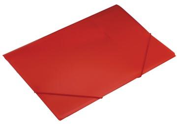 Beautone chemise à rabats et élastiques Frosted rouge