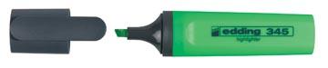 Edding markeerstift 345 groen, doos van 10 stuks