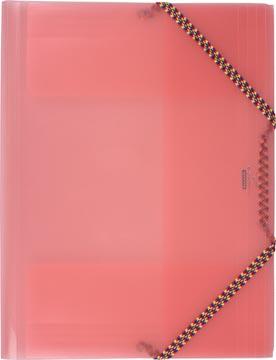 Beautone chemise à rabats et élastiques Crystal rouge