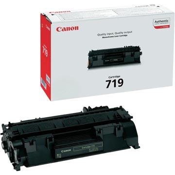 Canon toner 719, 2.100 pagina's, OEM 3479B002, zwart