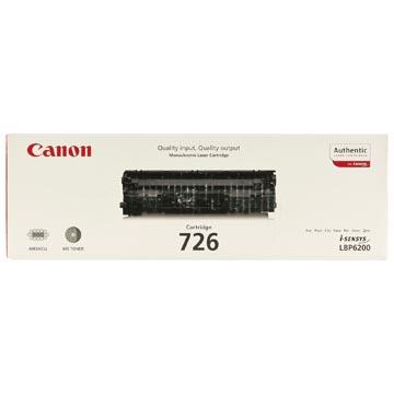 Canon toner 726, 2.100 pagina's, OEM 3483B002, zwart