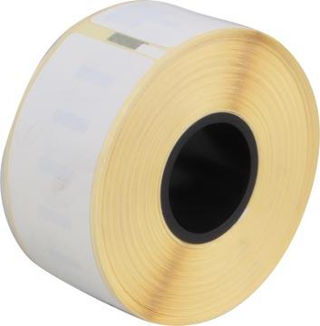 Compatible etiketten Dymo LabelWriter ft 89 x 28 mm, wit, pak van 260 etiketten