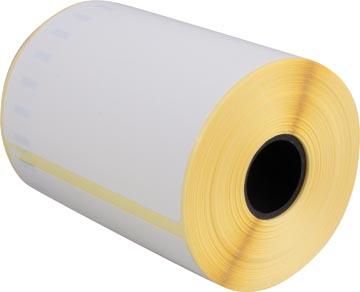 Etiquettes compatibles Dymo LabelWriter ft 104 x 159 mm, blanc, paquet de 220 étiquettes