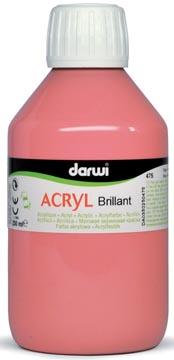 Darwi Glanzende acrylverf roze