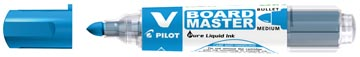 Pilot whiteboardmarker V-Board Master M, medium 2,3 mm, blauw