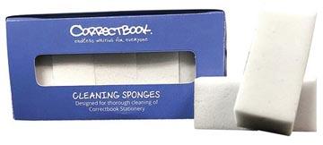 Correctbook schoonmaak sponsjes, doos met 5 stuks