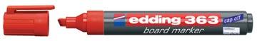 Edding witbordstiften e-363 rood