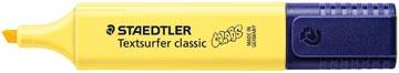 Staedtler Markeerstift Textsurfer Classic, licht geel pastel