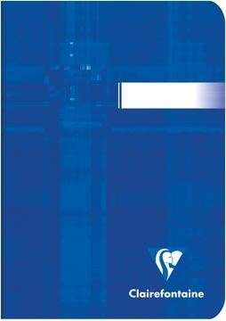 Clairefontaine Metric carnet de notes, ft 10,5 x 14,8 cm, 96 pages, ligné