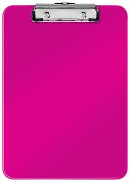 Leitz WOW klemplaat, ft A4, roze