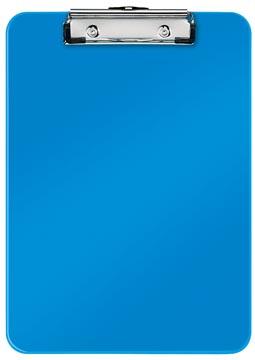 Leitz WOW klemplaat, ft A4, blauw