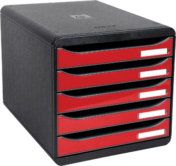 Exacompta ladenblok Big-Box Plus noir/rouge