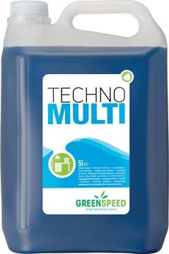 Greenspeed geconcentreerde allesreiniger Techno Multi, citrusgeur, flacon van 5 liter