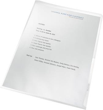 Leitz Recycle L-map, ft A4, gerecycleerd PP van 140 micron, transparant, doos van 25 stuks