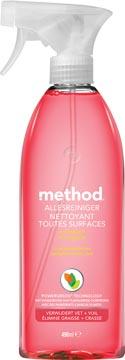 Method nettoyant multi-usages, pamplemousse rose, spray de 490 ml