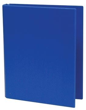 Ringmap, ft A5, 2 ringen van 25 mm, blauw